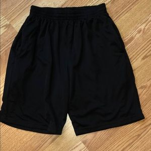 Old Navy black active shorts - size S